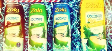 Zola Coconut Water; The Perfect Summer Refresher