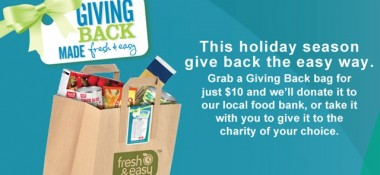 Giving Back Has Never Been So 'Fresh and Easy'