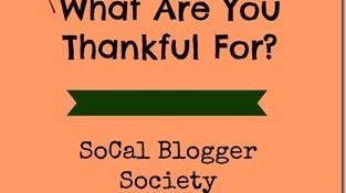 What Are You Thankful For? A SCBS Link Up