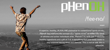 Avoid Dehydration With The World's First Alkaline Sports Drink, Phenoh