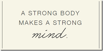 Strong Body Strong Mind thinkThin