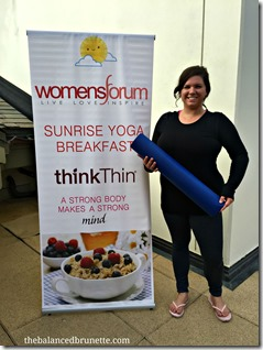Sunrise Yoga ThinkThin Womens Forum Andrea Metcalf 21