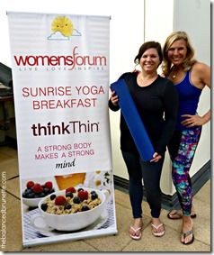 Sunrise Yoga ThinkThin Womens Forum Andrea Metcalf 22