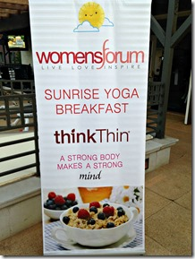 Sunrise Yoga ThinkThin Womens Forum Andrea Metcalf 3
