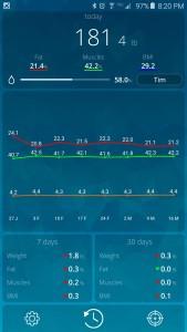 Beets Blu Smart Scale Screen Shot