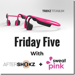 #Awarewithpink after shokz fit approach