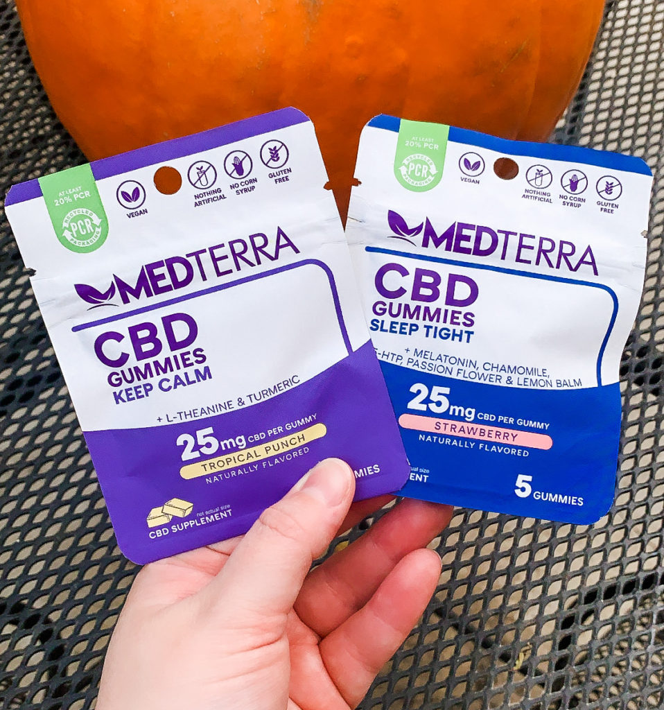 Medterra CBD oil gummies