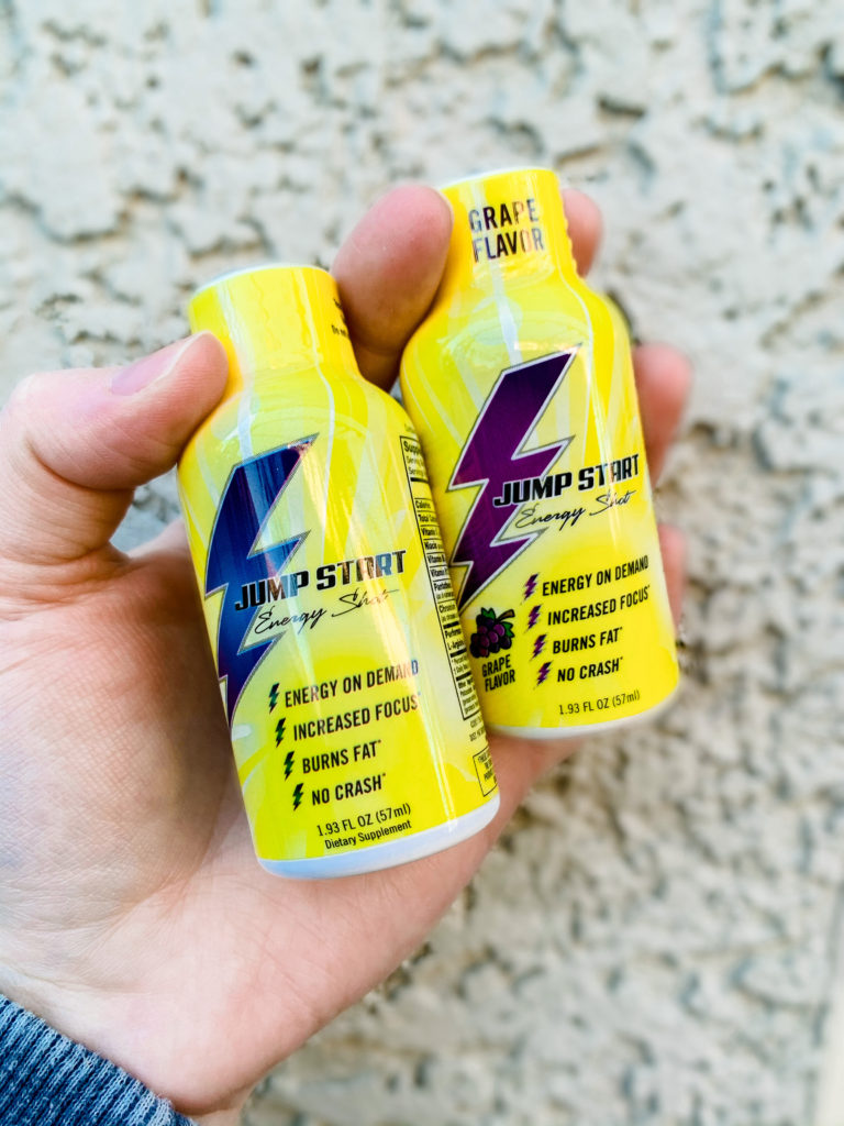 Jumpstart energy shot for focus