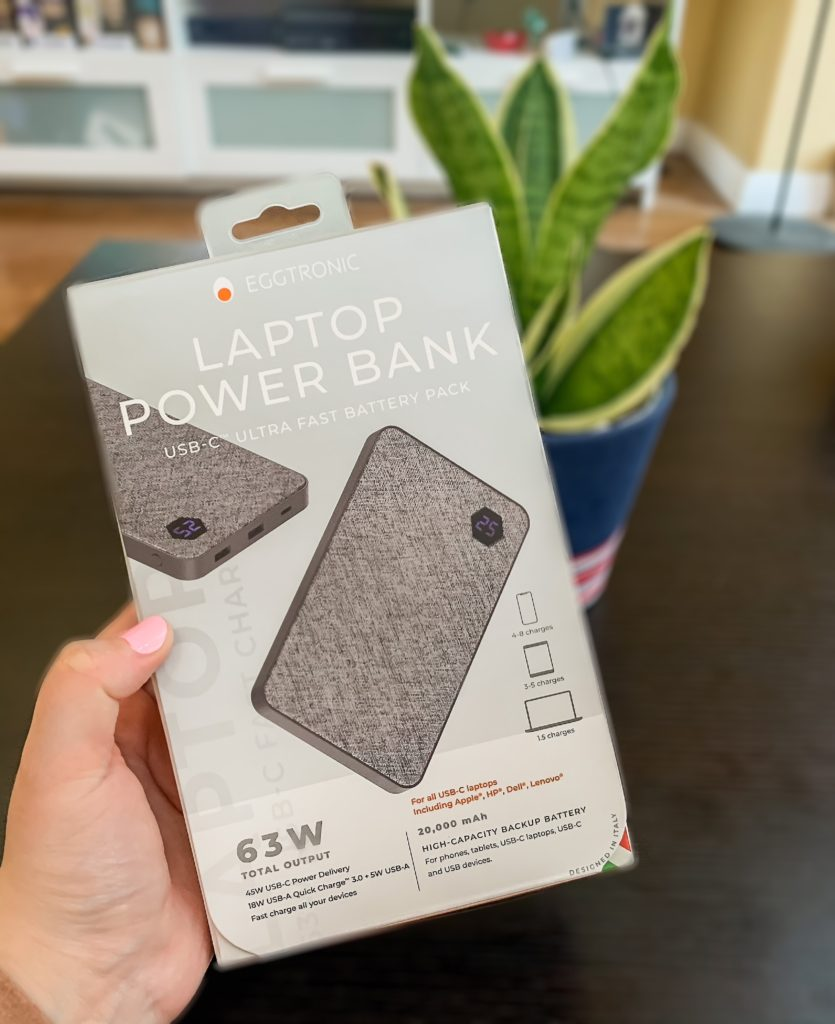 eggtronic laptop power bank holiday gift guide