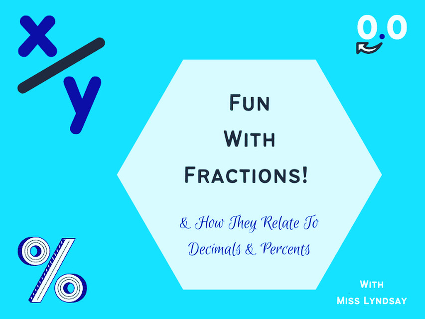fun with fractions outschool class