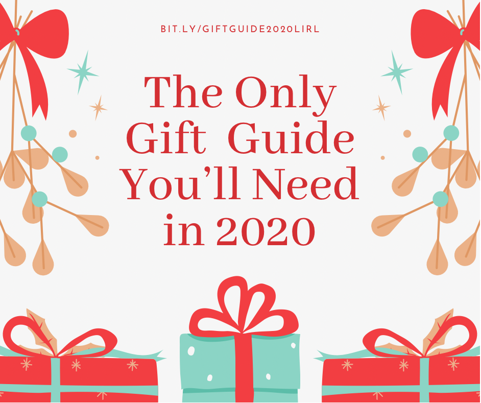 the only holiday gift guide you'll need in 2020